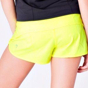 Ivivva girls size 14 yellow shorts
